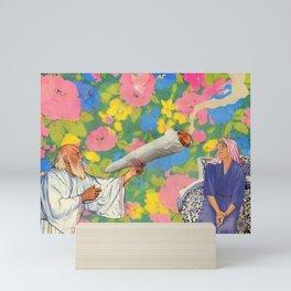 Holy Smokes Mini Art Print