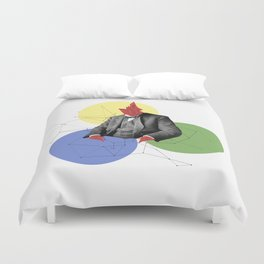Abstract Collage Duvet Cover