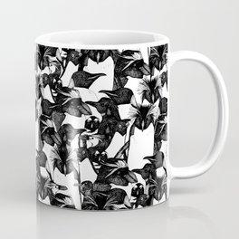 just penguins black white Coffee Mug