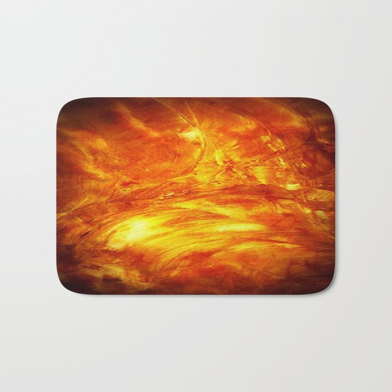 Surface Of The Sun - Leo - Science - Hipster - Hot Bath Mat