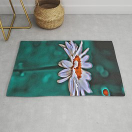 Painted Daisey Rug