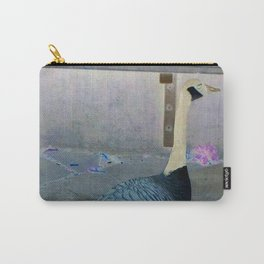 A goose in town Carry-All Pouch