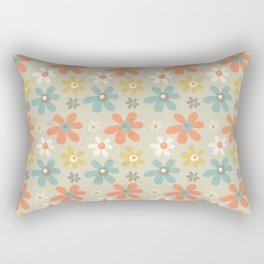flowers pattern Rectangular Pillow