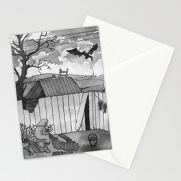 Weird Dreams Stationery Cards