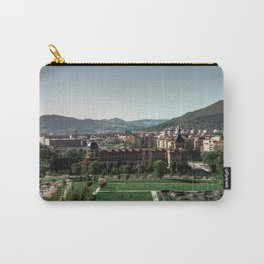 Cityscape from the old town of Pamplona Carry-All Pouch