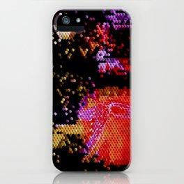 Qubit iPhone Case