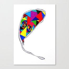 Broken Glass Balloon Canvas Print