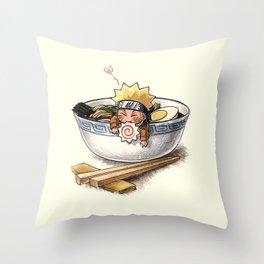 Naruto Ramen Throw Pillow