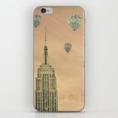 Balloons over the Empire iPhone & iPod Skin