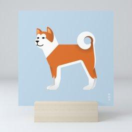 Akita Mini Art Print