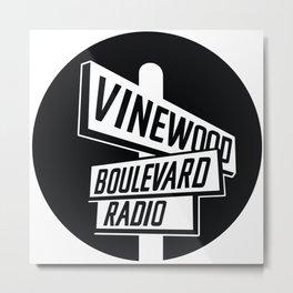 Vinewood Boulevard Radio Metal Print