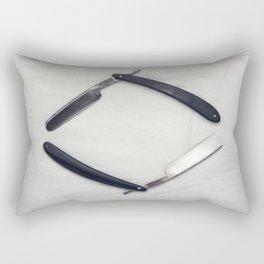 Straight Razors Rectangular Pillow