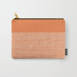 Riverside - Celosia Orange Carry-All Pouch