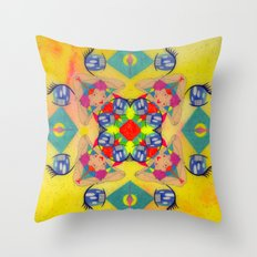 Inner Space 2 Throw Pillow