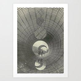 coiled Art Print