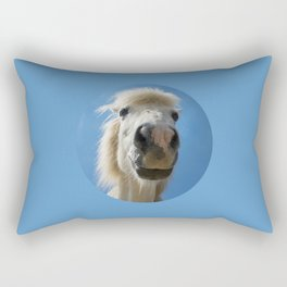 Funny Horse Rectangular Pillow