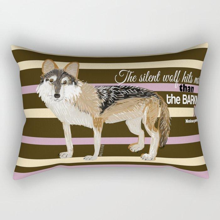 Mexican proverb (TOPOS) Rectangular Pillow