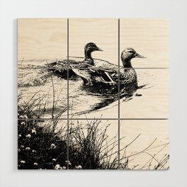 swim, swam Wood Wall Art