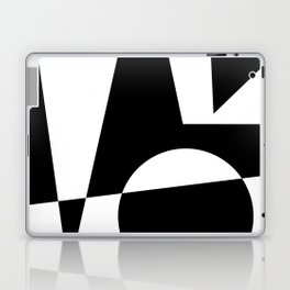 Black & White Abstract I Laptop & iPad Skin