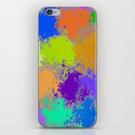 Paint Dots iPhone Skin