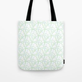 Swirls of Blue and Green Tote Bag