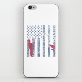 American Fisherman iPhone Skin