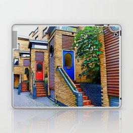 Stairs to Nowhere  -  Greenwich London Laptop & iPad Skin
