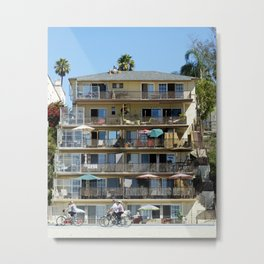 Ocean Front Property Metal Print