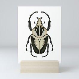 Goliath Beetle Mini Art Print