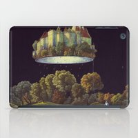 castle in the sky iPad Cases featuring Castle by Matthias Leutwyler