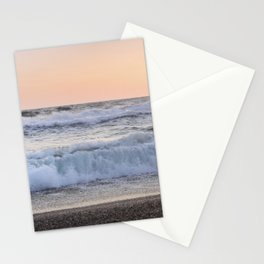 Looking at the sea.... Magnetic waves Stationery Cards