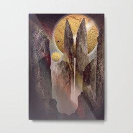 The tall Dark towers Metal Print