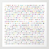 dots Art Prints featuring Dots by Farnell