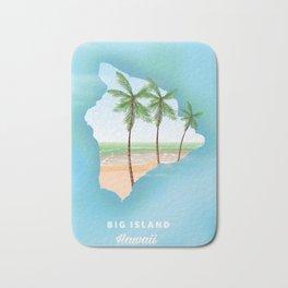Hawaii Big Island Bath Mat