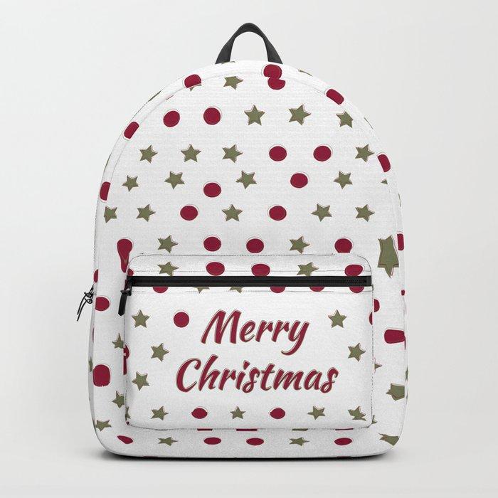 Merry Christmas Backpack