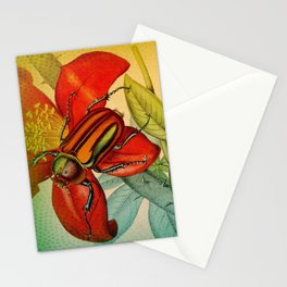 Pretty Beetles Stationery Cards