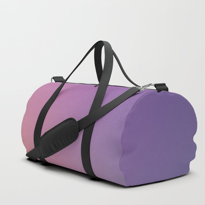 GUILTY  CONSCIENCE - Minimal Plain Soft Mood Color Blend Prints Duffle Bag