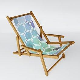 TWEEZY PATTERN OCEAN COLORS byMS Sling Chair