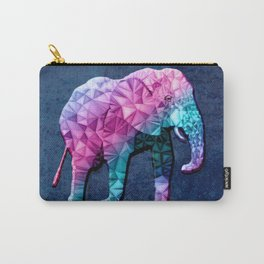 abstract elephant Carry-All Pouch