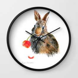 """Trouble"" by Teresa Thompson Wall Clock"