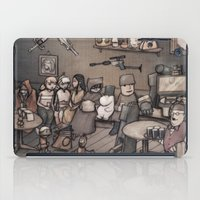 old school iPad Cases featuring OLD SCHOOL by Brian Coldrick