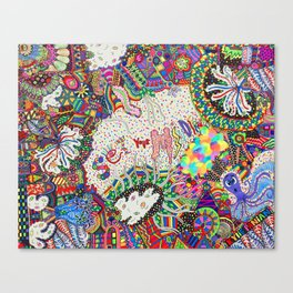 Set Your Mind Free Canvas Print