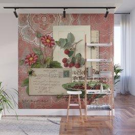 Raspberry Wall Mural