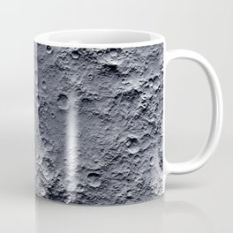 Moon Surface Coffee Mug