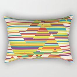 Harmony and Cacophony Rectangular Pillow
