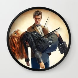 Asylum of the daleks - Doctor Who Wall Clock