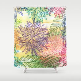 botanica Shower Curtain