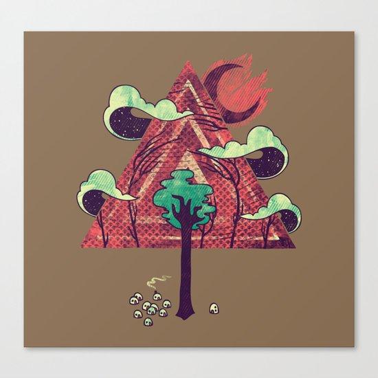 The Evergreen Canvas Print