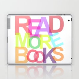 READ MORE BOOKS Laptop & iPad Skin