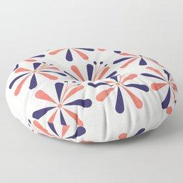 Lime Blossom Floor Pillow